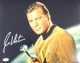 William Shatner Autographed 11x14 Photo Star Trek JSA Stock #178310