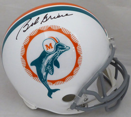 Bob Griese Autographed Miami Dolphins Full Size Replica Helmet Beckett BAS #WB88165