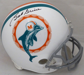 Bob Griese Autographed Miami Dolphins Full Size Replica Helmet Beckett BAS #WB88162
