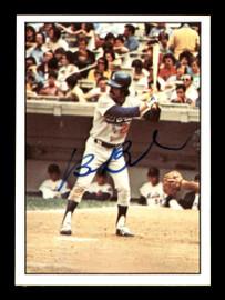 Bill Buckner Autographed 1975 SSPC Card #91 Los Angeles Dodgers SKU #178466
