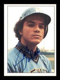 Sixto Lezcano Autographed 1975 SSPC Card #241 Milwaukee Brewers SKU #178730