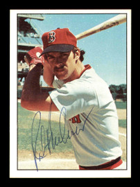 Rick Burleson Autographed 1975 SSPC Rookie Card #410 Boston Red Sox SKU #178743