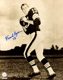 Frank Ryan Autographed 8x10 Photo Cleveland Browns Stock #178861