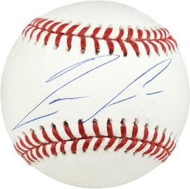 Ronald Acuna Jr. Autographed Official MLB Baseball Atlanta Braves Beckett BAS Stock #178980