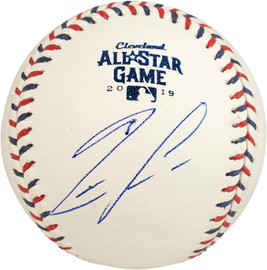 Ronald Acuna Jr. Autographed Official 2019 All-Star Game Baseball Atlanta Braves Beckett BAS Stock #178981