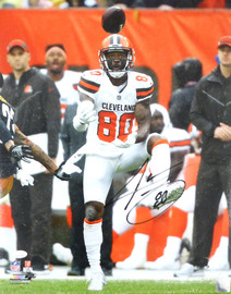 Jarvis Landry Autographed 16x20 Photo Cleveland Browns Beckett BAS Stock #178973