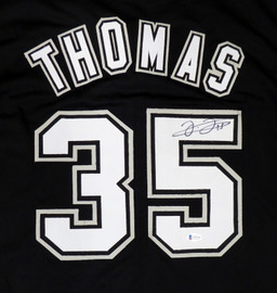 Chicago White Sox Frank Thomas Autographed Black Jersey Beckett BAS Stock #179029