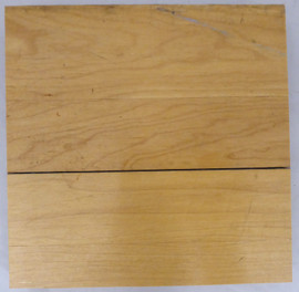1995-1998 Chicago Bulls Game Used United Center 6x6 Blonde Hardwood Floor Piece Michael Jordan Stock #179036