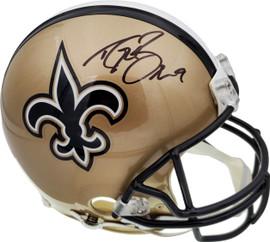 Drew Brees Autographed New Orleans Saints Full Size Authentic Proline Helmet Beckett BAS Stock #179101