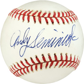 Andy Seminick Autographed Official NL Baseball Philadelphia Phillies PSA/DNA #F74051