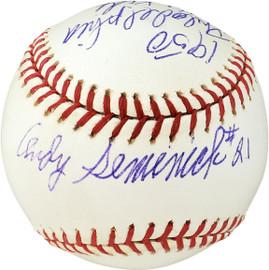 "Andy Seminick Autographed Official MLB Baseball Philadelphia Phillies ""1950 Philadelphia Whiz Kids"" PSA/DNA #F36793"