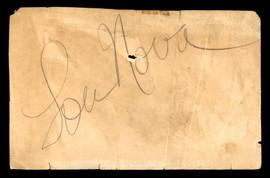 Lou Nova Autographed 3.5x5.5 Cut Signature Boxer, Actor SKU #179721
