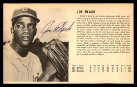 Joe Black Autographed 5x8 Magazine Page Photo Brooklyn Dodgers SKU #179781