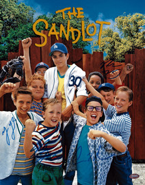 The Sandlot Autographed 11x14 Photo With 4 Signatures MCS Holo Stock #179839