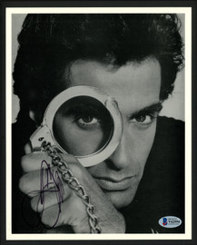 David Copperfield Autographed 8x10 Photo Magician Beckett BAS #V62594