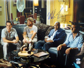 Mike Tyson Autographed 16x20 Photo The Hangover Beckett BAS Stock #180898