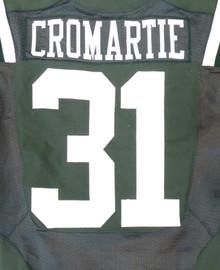 New York Jets Antonio Cromartie 2013 Game Used Green Nike Jersey Unsigned SKU #181176