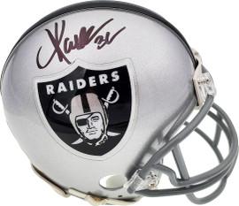Marcus Allen Autographed Oakland Raiders Mini Helmet Beckett BAS Stock #181105
