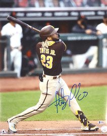Fernando Tatis Jr. Autographed 16x20 Photo San Diego Padres Beckett BAS Stock #181117