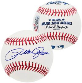 Pete Rose Autographed Official MLB Baseball Cincinnati Reds PR Holo Stock #181106
