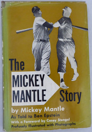 Mickey Mantle Autographed 1953 Book New York Yankees Graded 10 Beckett BAS #A34666