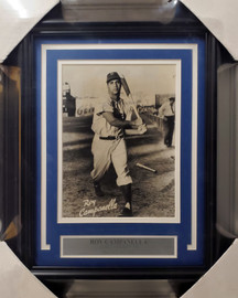 Roy Campanella Autographed Framed 8x10 Photo Brooklyn Dodgers Pre-Accident PSA/DNA #D58039