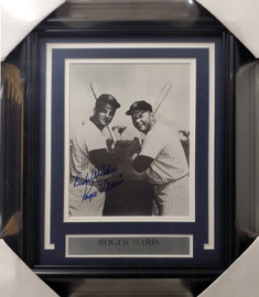 "Roger Maris Autographed Framed 8x10 Photo New York Yankees ""Best Wishes"" Beckett BAS #A28717"