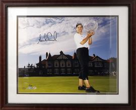 Annika Sorenstam Autographed Framed 16x20 Photo #43/100 UDA Holo #BAJ10384