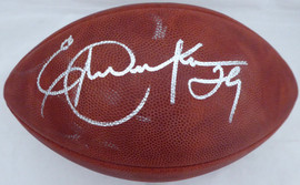 Eric Dickerson Autographed Wilson NFL Leather Football Los Angeles Rams Beckett BAS #V62710