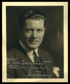 """Gene Tunney Autographed 8x10 Photo """"To Paul"""" Vintage Signature Beckett BAS #A34709"""