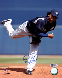 Felix Hernandez Autographed 8x10 Photo Seattle Mariners Beckett BAS #E46257