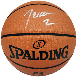 John Wall Autographed Official Spalding I/O Basketball Washington Wizards Beckett BAS Stock #182252