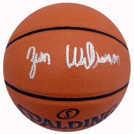 Zion Williamson Autographed Official Spalding I/O Basketball New Orleans Pelicans Fanatics Holo Stock #185089