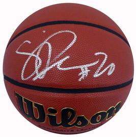 Sabrina Ionescu Autographed Official Wilson NCAA I/O Basketball Oregon Ducks Fanatics Holo Stock #185091