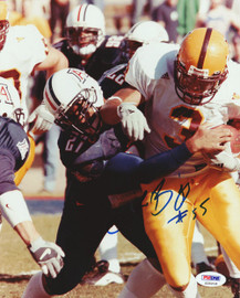 Lance Briggs Autographed 8x10 Photo Arizona Wildcats PSA/DNA #S35218