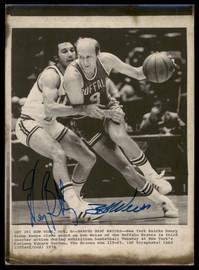 Henry Bibby & Bob Weiss Autographed 8x11 AP Photo SKU #185467