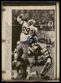 Billy Joe Dupree & Bill Bradley Autographed 8x11 AP Photo SKU #185470