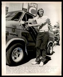 Dick Bosman Autographed 8x10 AP Photo Cleveland Indians SKU #185496