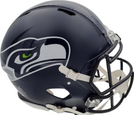 Unsigned Seattle Seahawks Full Size Authentic Speed Helmet Stock #185356
