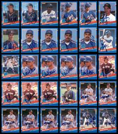 1991 Donruss Baseball Autographed Cards Lot Of 318 SKU #185532