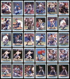 1992 Donruss Baseball Autographed Cards Lot Of 294 SKU #185533