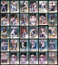 1992 Fleer Baseball Autographed Cards Lot Of 115 SKU #185542