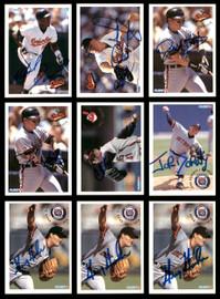1994 Fleer Baseball Autographed Cards Lot Of 79 SKU #185544