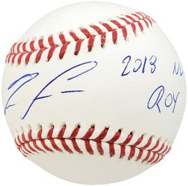 "Ronald Acuna Jr. Autographed Official MLB Baseball Atlanta Braves ""2018 NL ROY"" Beckett BAS Stock #185592"