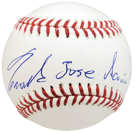 Ronald Acuna Jr. Autographed Official MLB Baseball Atlanta Braves Full Name Beckett BAS Stock #185593