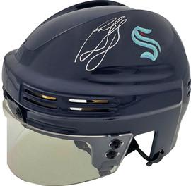 Ron Francis Autographed Seattle Kraken Mini Helmet Fanatics Holo Stock #185603