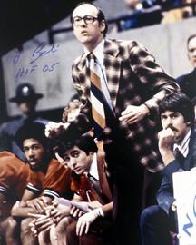 "Jim Boeheim Autographed 16x20 Photo Syracuse Orange ""HOF 05"" Steiner Stock #185794"