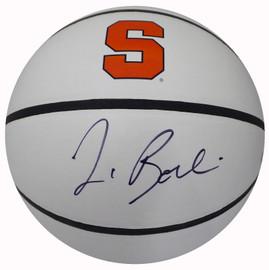 Jim Boeheim Autographed Rawlings Syracuse Orange Logo Basketball Steiner Stock #185849