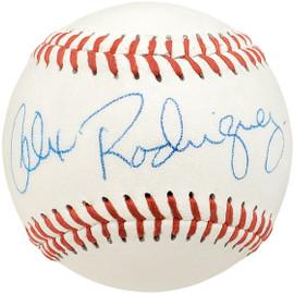 Alex Rodriguez Autographed Official Little League Baseball Seattle Mariners Vintage 1994 Signature Beckett BAS #Y93003
