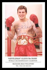 "Glenn McCrory Autographed 4x6 Photo ""Best Wishes"" SKU #186932"